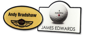 Shaped Name Badges | www.namebadgesinternational.us